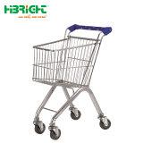 Kind-Plastikeinkaufen-Laufkatze/Kind-Supermarkt-Einkaufswagen