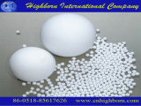 Esfera de moedura cerâmica da alumina branca de grande resistência da resistência de desgaste