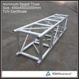 Verwendeter Aluminiumbinder-Baugerüst-Binder für Erscheinen