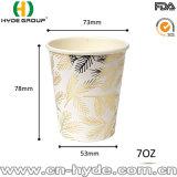 taza de papel del café caliente disponible de la bebida de 8b onza