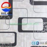Papel de parede do PVC do fundo 3D da tevê da sala de visitas para a decoração Home