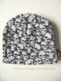 100%のアクリルの頭骨によって印刷される冬の帽子によって編まれる帽子