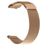 Venda magnética de la correa de reloj del acoplamiento del bucle 24m m milanés de la fábrica 20m m 22m m para el acero inoxidable del engranaje S3 de Samsung