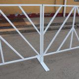 Barricades portatives de contrôle de foule en métal en acier de concert