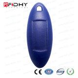 高品質Tk4100はABS RFIDスマートな主札Keyfobを防水する
