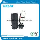 Cierre de la cúpula de fibra óptica para aplicaciones de redes y equipos de fibra
