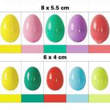 Giocattolo di plastica dell'uovo di Pasqua di DIY Per i capretti come regalo