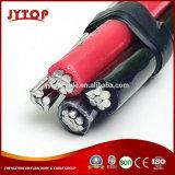 Conducteur de ligne de frais généraux de l'antenne câble aluminium torsadée ABC
