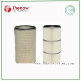 De gesponnen Filter In entrepot van de Patroon van de Lucht van de Polyester met Behandeling PTFE