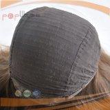 黒いカラー毛のハイエンド絹の上のユダヤ人のかつら(PPG-l-01539)