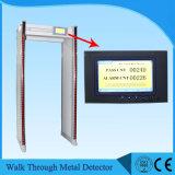 ゲートを通る耐候性がある歩行金属探知器Uz800を通る33/45のゾーンの歩行