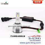 CREE novo do F2 H4 6000lm farol Rotable do diodo emissor de luz de 360 graus