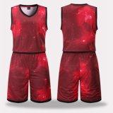 昇華スポーツの摩耗のバスケットボールの均一通気性の速乾燥のバスケットボールジャージー