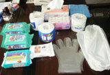 Aparelhos electrodomésticos e papéis sanitários