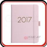 Encargo del brillo del borde del cuaderno A5 Diario 2018