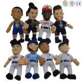 フットボールのバスケットボール選手のプラシ天の人形のカスタムプラシ天の人形
