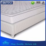 El OEM comprimió diseño de lujo superior apretado de la tapa de la almohadilla del colchón los 24cm con el resorte de Bonnell y la capa de la espuma