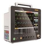 15polegadas desfibrilador ambulância Equipamento Médico Multi- Parâmetro Monitor de Paciente