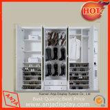 Garnitures d'étalage de chaussure de présentoirs de chaussure