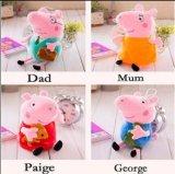 Famille de porc farci poupée jouet en peluche