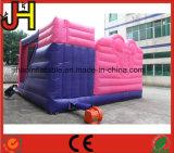 子供のためのピンクの膨脹可能なスライドの警備員