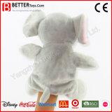 Marioneta de mano del elefante del animal relleno para los cabritos/los niños
