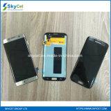 Teléfono móvil LCD del LCD del teléfono celular para el borde de Samsung S7