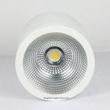 iluminación blanca montada superficie de Downlight LED de la MAZORCA de 30W LED