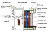 Horno fusorio de aluminio y máquina de la inducción de frecuencia media controlada del PLC