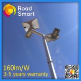Integrierte Solar-LED Straßenbeleuchtung des intelligenten 40W 5600lm Patent-Entwurfs-