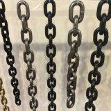 flagellazione verniciata nera G80 di 13mm Chain in timpano d'acciaio