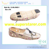Chaussures de fille de jardin scolaire EVA Tampons