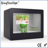 Витрина игрока индикации LCD 21.5 дюймов прозрачная (XH-DPF-215B)