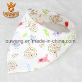 Babero caliente del Drool del Bandana del bebé de la venta de la nueva manera hecho en China