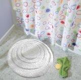 Runde Badezimmer-Sicherheits-rutschfeste Bodenbelag-Polyester Microfiber Noppe-Wolldecke