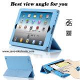도매 iPad Apple iPad 2를 위한 공식적인 접히는 2절판 지능적인 대 PU 가죽 덮개 3 4 케이스