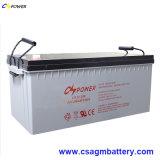 Солнечная Солнечная Аккумулятор Гель Батареи с 15years Жизни 12V200ah