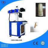 Machine d'inscription de laser de CO2 pour les plastiques en cuir