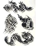 стикер Tattoo искусствоа стикеров Tattoo способа водоустойчивый временно