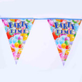 Indicadores durables del empavesado de la cadena del precio barato para la decoración del cumpleaños
