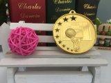 La medaglia placcata oro vuoto del gioco di pallacanestro della pressofusione