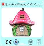 형식 작풍 버섯 판매를 위한 소형 집 디자인 수지 기술 정원 훈장