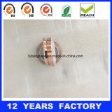 лента фольги Acrylic 0.07mm слипчивая подпертая медная для защищать