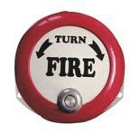 6'' (150mm) eléctrico alarma contra incendios