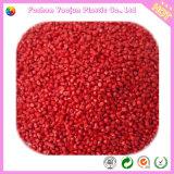 Venda quente Masterbatch vermelho para a resina do animal de estimação