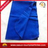 Flanella imbottente di colore solido dell'aggraffatura di autunno e della molla più la coperta del tessuto di cotone