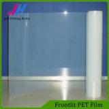 Caja de luz Pantalla Frontlit impresión película de PET
