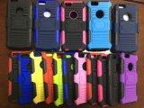 Het zwarte Geval van het Holster Combo voor iPhone 6 4.7 Duim met Kickstand