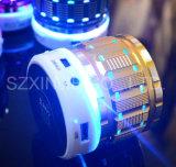 FMのラジオが付いているハンズフリー呼出し機能LED Bluetoothスピーカーが付いているS28金属の移動式小型ステレオスピーカー