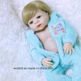 Silicone renascido das bonecas do bebê do silicone de China Handmade para o presente da criança